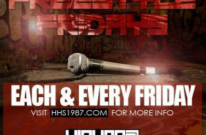 Enter (2-21-14) HHS1987 Freestyle Friday (Beat Prod by F Block Savage) SUBMISSIONS END (2-20-14) AT 6PM ES