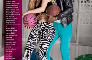 Love & Basketball: Nick Young poses with his Girlfriend Iggy Azalea for GQ Magazine (Photos)