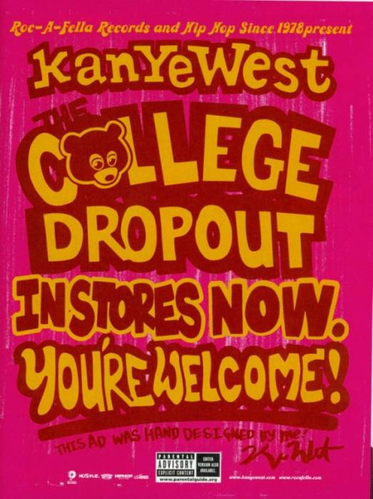 kanye west college dropout promo hi res 600x803 Kanye Reflects On The College Dropout