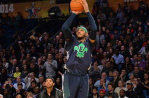 Carmelo Anthony Breaks an All-Star Record For 3 Pointers Made (Video)
