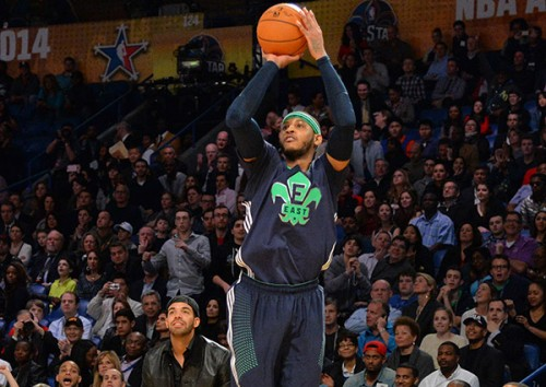 Carmelo Anthony Breaks an All Star Record For 3 Pointers Made (Video)