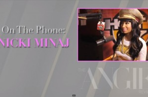 "Nicki Minaj Calls Angie Martinez for ""The Angie Review"""
