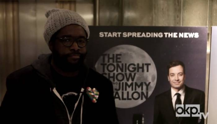 questloveokptv Okayplayer Goes Behind The Scenes Of Questloves First Day On The Tonight Show (Video)