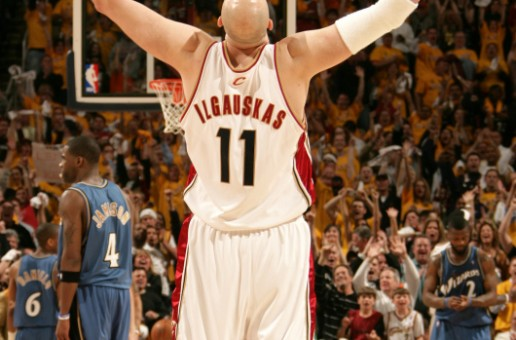 Cleveland Rocks: Zydrunas Ilgauskas' Jersey Retired by the Cavaliers (Video)