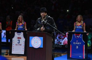 Simply The Best: Allen Iverson's Number 3 is Retired by the Philadelphia 76ers (Video)
