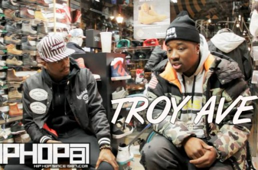 Troy Ave Talks New Single, Ideal Record Deal Scenario, Working With Philly Artists & More (Video)