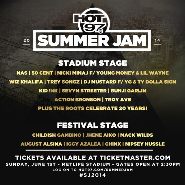 c307fc1a5765 HOT 97 Summer Jam 2014 (Festival Stage   Main Stage) (Live Stream ...
