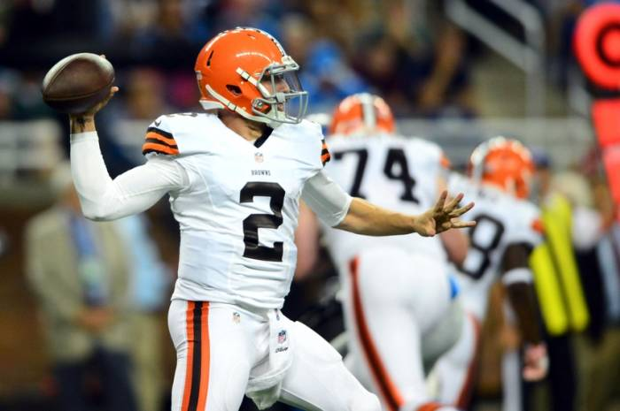 Johnny Manziel & The Cleveland Browns Will Face RGIII ...