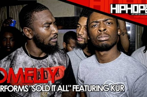 """Omelly Previews """"Sold It All"""" (Ft. Kur) At 'Gunz N Butta' Listening Event (Video)"""