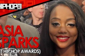 Asia Sparks Announces 'Spark Up, Vol. 2' Release Date At The BET Hip Hop Awards With HHS1987 (Video)