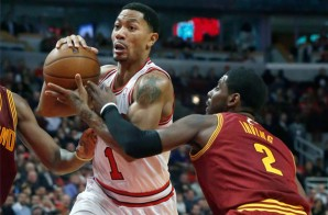 Challenge: Kyrie Irving Takes On Derrick Rose (Video)