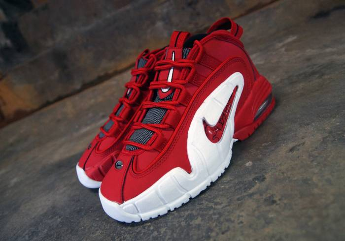 "Nike Air Max Penny ""University Red"" (Photos) 