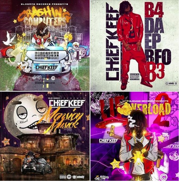 chief keef releases 4 new mixtapes home of hip hop videos rap
