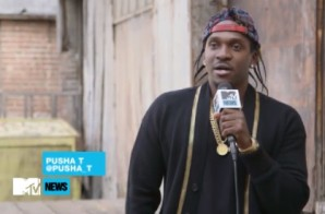Pusha T Breaks Down The Creation Process Of His Kanye West & Charlie Heat Produced Cut 'Lunch Money'! (Video)