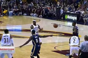 Lebron James Serves Up A Sweet No-Look Dish To Kyrie Irving (Video)