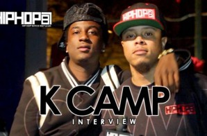 "K Camp Breaks Down His Project ""One Way"", His Upcoming Single With Chris Brown & Announces His New Album With HHS1987 (Video)"