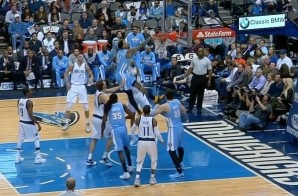 Hey Mr. Wilson: Wilson Chandler Takes Flight Over Tyson Chandler For A Big Slam (Video)