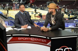 Reunited & It Feels So Good: Dwyane Wade Interviews Lebron James After Game 3 Of The NBA Finals (Video)
