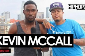 """Kevin McCall Talks His Upcoming Album, """"Waterbed"""" Featuring Chris Brown, South Carolina's Confederate Flag, Acting & More With HHS1987 (Video)"""