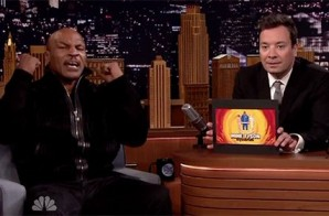 """Pure Comedy: Mike Tyson Covers Drake's """"Hotline Bling"""" On The Tonight Show Starring Jimmy Fallon (Video)"""
