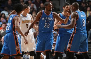 Easy Money: Kevin Durant Drops 30 Points & Grabs 12 Rebounds Against The Denver Nuggets (Video)
