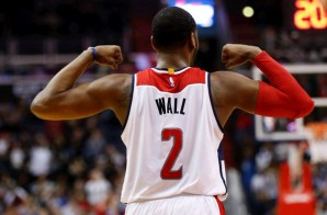 John Wall Drops 37 Points As The Wizards Faced The 76ers in D.C. (Video)