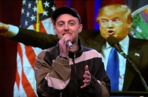 Mac Miller Disses Donald Trump On The Nightly Show! (Video)
