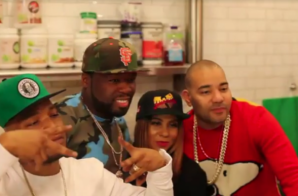 Grand Opening of Juices For Life BK w/ Angela Yee, DJ Envy, Styles P, Common, 50 Cent & More! (HHS1987 Video Recap)