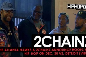 """2 Chainz Announces """"TRU Tuesdays"""" & His December 30th Performance with the Hawks Live from Benihana"""