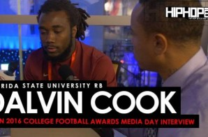 Florida State University RB Dalvin Cook Talks Jimbo Fisher, Winston vs. Francois, Facing the Michigan Wolverines & More at the ESPN 2016 College Football Awards Media Day (Video)