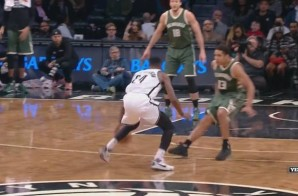 When It All Falls Downs: Brooklyn Nets Star Rondae Hollis-Jefferson Drops Bucks Guard Malcolm Brogdon With a Nasty Crossover (Video)