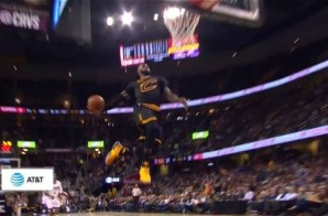 LeBron Throws Down a Nice Windmill Dunk vs. the Clippers; Passes Bob Cousy on NBA All-Time Assists List
