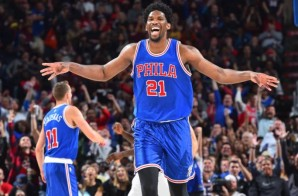 Sixers Star Joel Embiid Named November's Eastern Conference Rookie of the Month