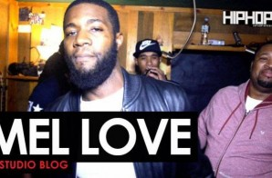 Mel Love – Warm Up (HipHopSince1987 In-Studio Video)