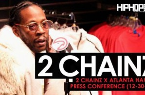 2 Chainz Reveals His Upcoming Project 'Pretty Girls Like Trap Music' & More During His Atlanta Hawks Press Conference (Video)