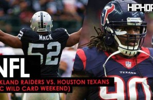 Oakland Raiders vs. Houston Texans (AFC Wild Card Weekend) (Predictions)