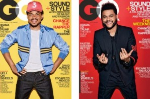 Both Chance The Rapper & The Weeknd Cover The February Issue Of GQ!