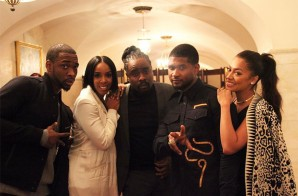 Solange, Usher, Kelly Rowland & More Attend Obama's Farewell Party!