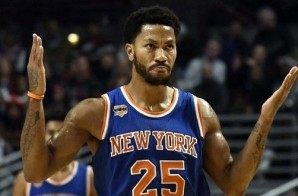 Derrick Rose Didn't Report For Tonight's Knicks vs. Pelicans Game; Knicks Don't Know Where He Is
