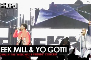 "Meek Mill & Yo Gotti Perform ""F.U."" at The Meek Mill & Friends Concert 2017 (Video)"