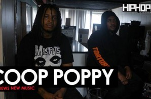 Coop Poppy Previews New Music (HipHopSince1987 Exclusive)