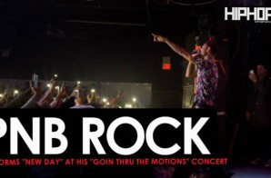 """PnB Rock Performs """"New Day"""" & More at His """"GTTM: Goin Thru The Motions"""" Concert"""