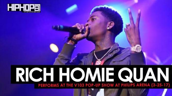 Excellent Rich Homie Quan Performs Walk Thru And Debuts His New Record Short Hairstyles Gunalazisus