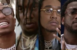 Migos – Slippery ft. Gucci Mane (Video)