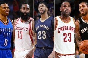 The 2016-17 All NBA Teams Have Been Announced; Harden, Westbrook, James, Leonard, Davis Lead The 1st Team