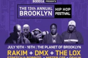 Rakim Added To Brooklyn Hip Hop Festival Finale Concert!