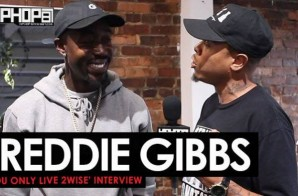 Freddie Gibbs Talks, 'You Only Live 2wise', Writing His Album in Jail, ESGN, Fatherhood & More (Video)