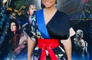 """Tammy Rivera x Lance Gross Attend The """"Transformers: The Last Knight"""" Sneaker Art Collaboration at NICE KICKS in Los Angeles (Photos)"""