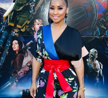 "Tammy Rivera x Lance Gross Attend The ""Transformers: The Last Knight"" Sneaker Art Collaboration at NICE KICKS in Los Angeles (Photos)"