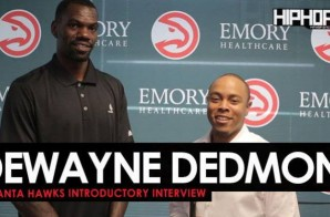 """DeWayne Dedmon Talks Signing With The Atlanta Hawks, Meek Mill's """"Wins And Losses"""" Album & More with HHS1987 (Video)"""